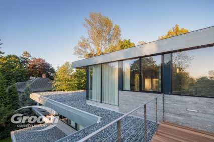 cost to build a contemporary home back of house