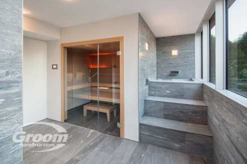 cost to build a contemporary home bathroom