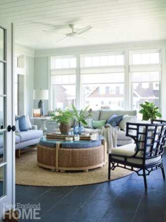 quonnie beach house sunroom