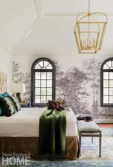 Andover condo master bedroom