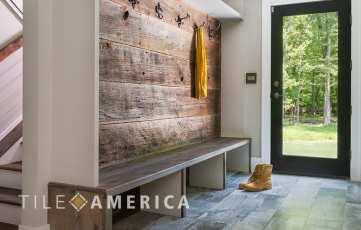choosing tile mud room