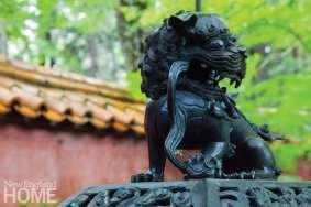 Beatrix Farrand Asian sculpture