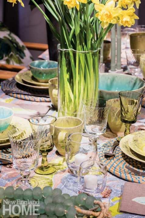 Modern Relik Boston table setting