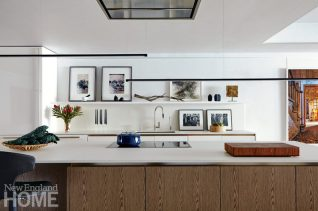 south end condo kitchen