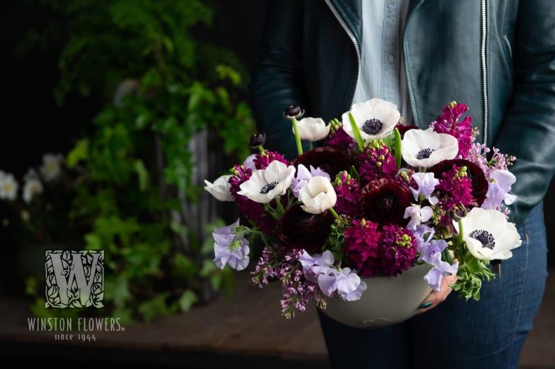 spring flowers purples