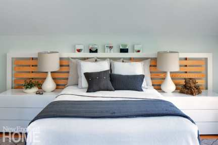 Martha's Vineyard getaway master bedroom
