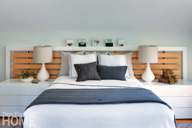Martha's Vineyard getaway master bedroom