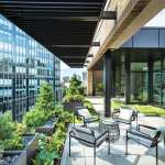 Boston rooftop garden furniture