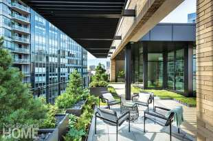 Boston rooftop garden furniture