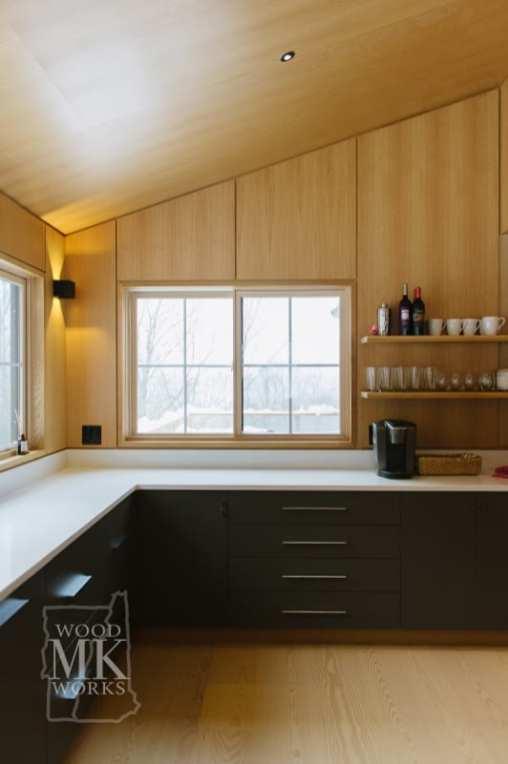 ways to modernize custom cabinets modern materials
