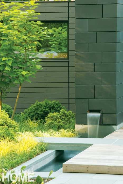 James Doyle Design Associates Greenwich water feature