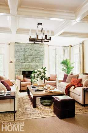 family-friendly in wellesley fireplace
