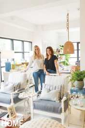 Sandra Halstead and Lesley Collins