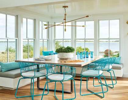 A Colorful Coastal Cottage