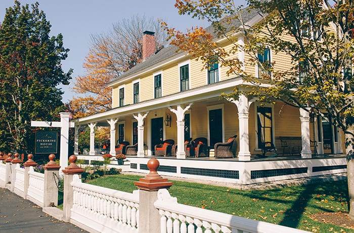 New Hampshire's Pickering House Inn