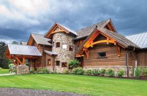 An Unconventional Timber-frame in Bridgewater