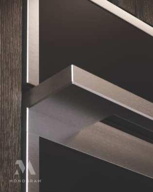 Detail Monogram appliance handle