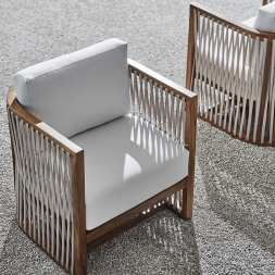 Dominico Outdoor Lounge Chair by Palacek