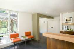 S + H Construction_midcentury modern_ Orange Seats