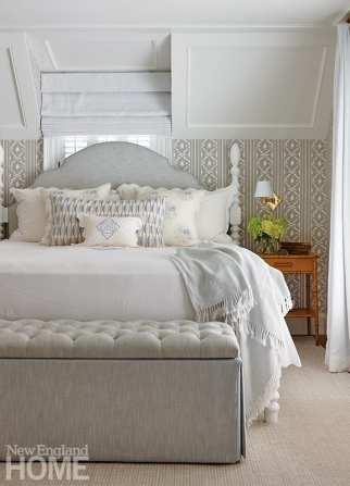 Primary bedrooms in elegant neutrals.