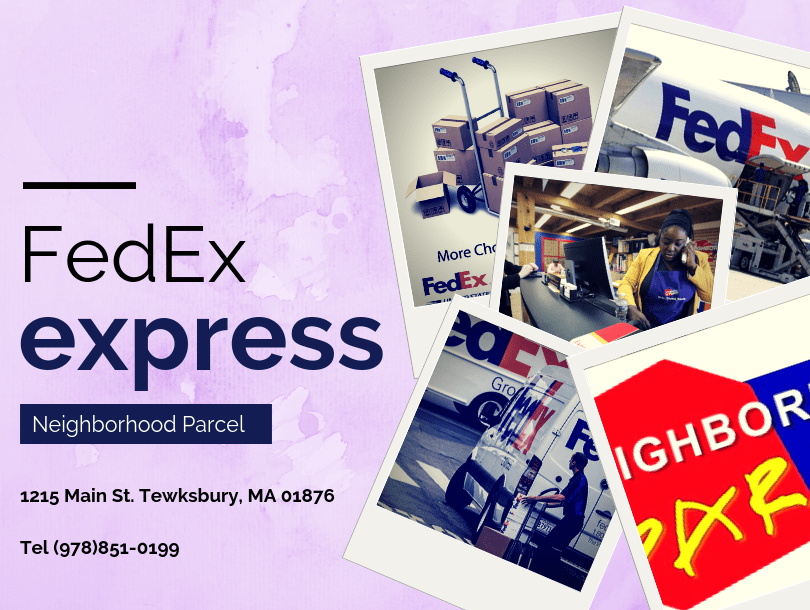 FedEx Shipping Center Tewksbury MA