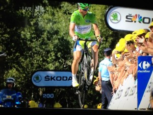 Sagan Wheelie