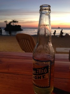 San Miguel Time in Boracay