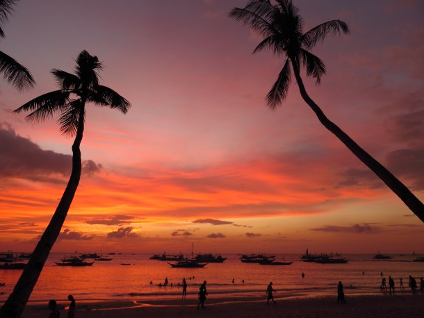 Boracay - some of of the finest sunsets you will ever see