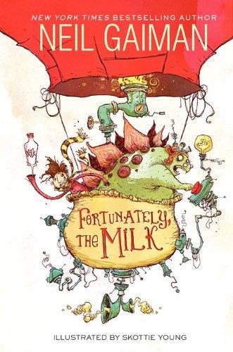 Fortunately the Milk - US - Hardback
