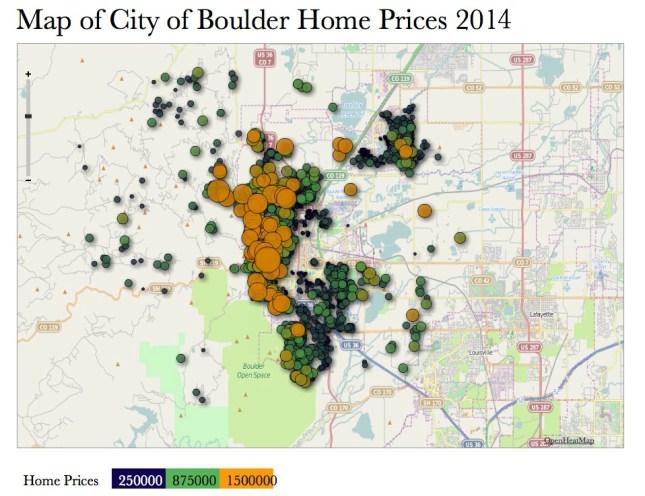 Boulder Heat Map