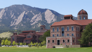 CU Business School and The Flatirons