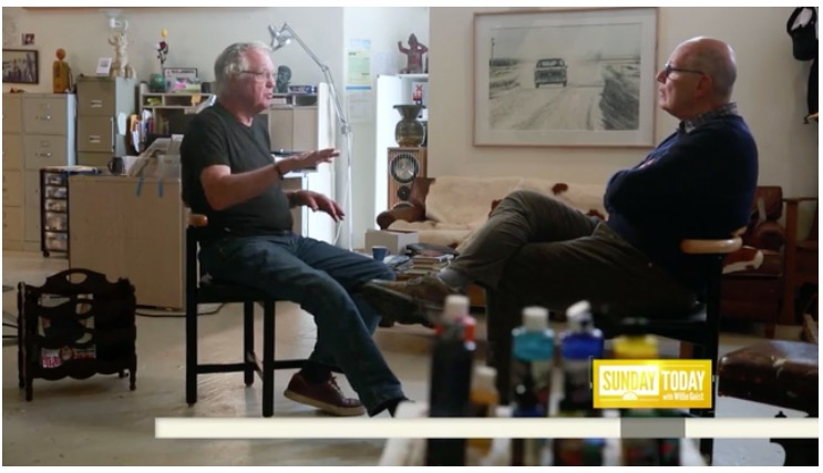 Boulder Artist Don Coen Featured on the Today Show