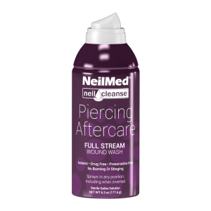 NeilMed Piercing Aftercare Full Stream 177mL