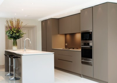 Handleless Kitchen Clapham