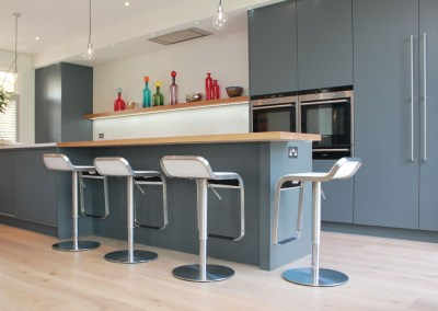 Modern Blue Kitchen Sheen