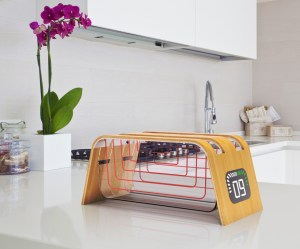 bamboo and glass toaster James Stumpf 1