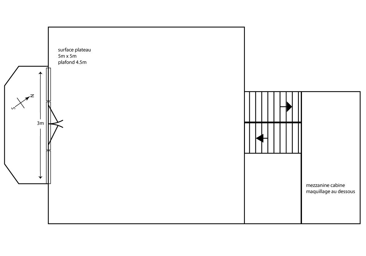 Studio plan Fr