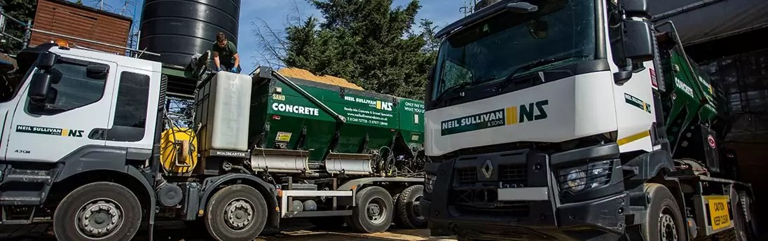 Romford Concrete & Aggregate Supplier | Neil Sullivan & Sons