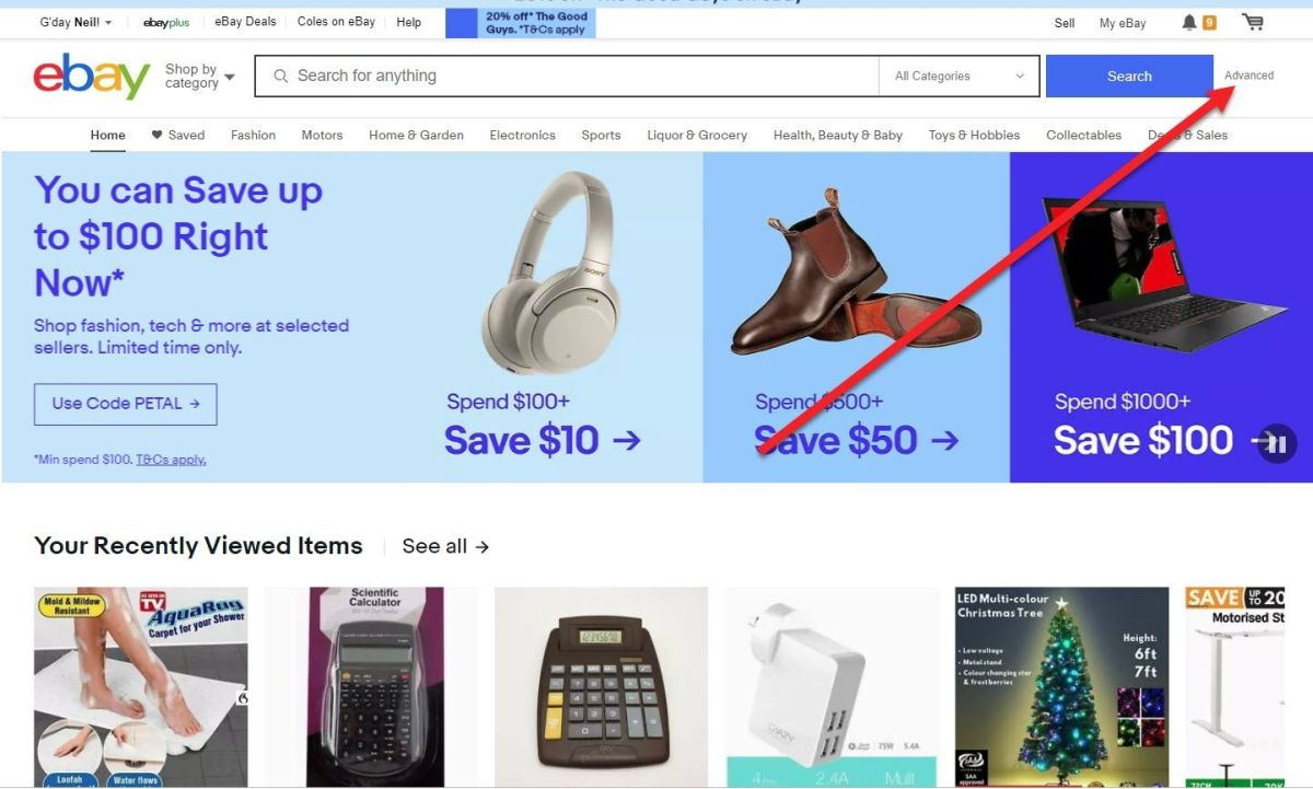 ebay seo competition