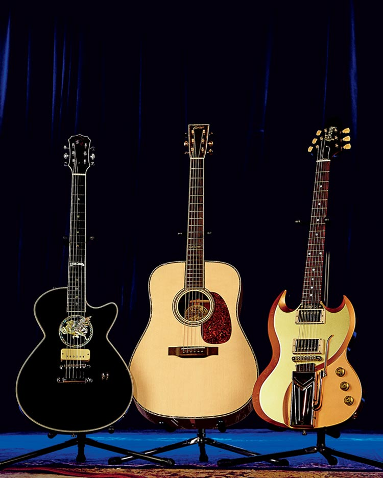 Texas Trio Guitars