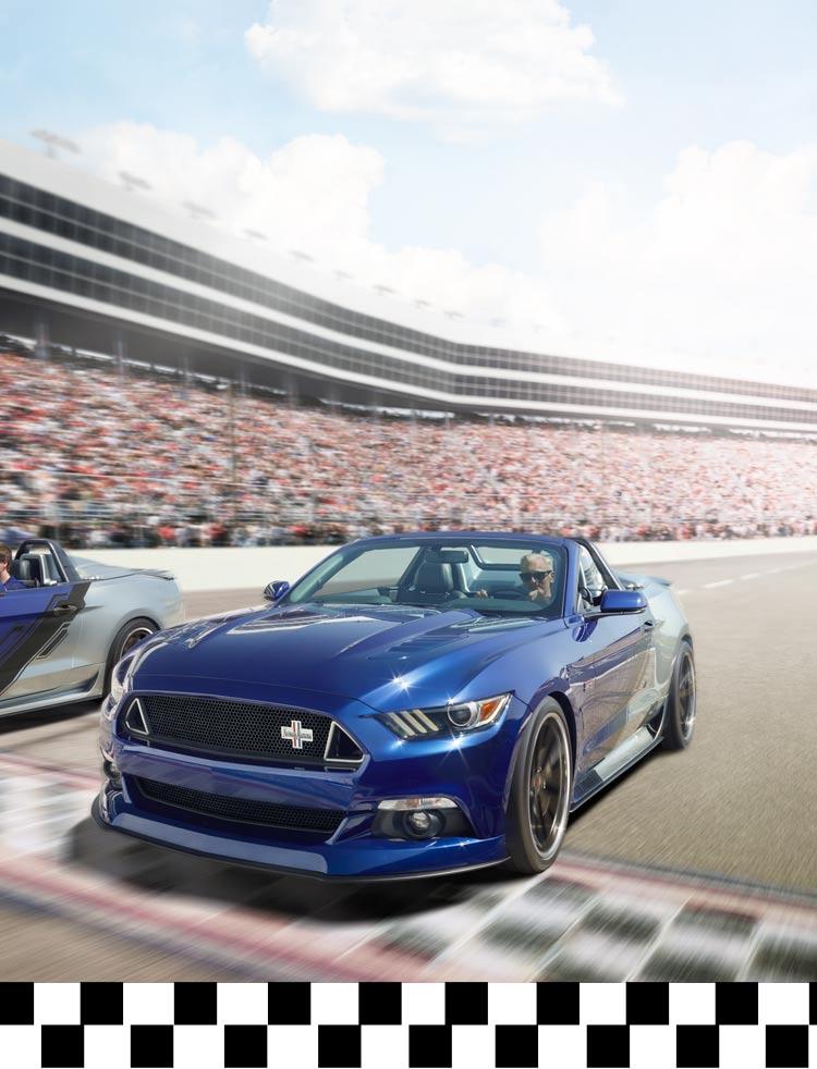 Neiman Marcus Mustang