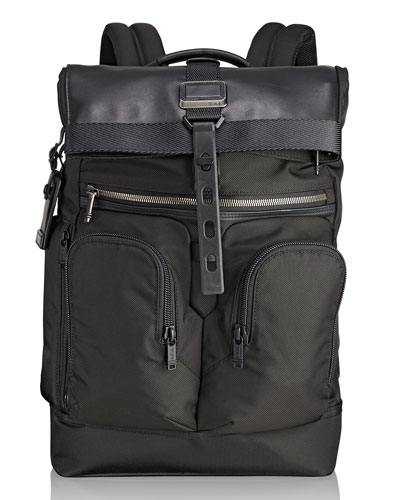 London Roll-Top Backpack