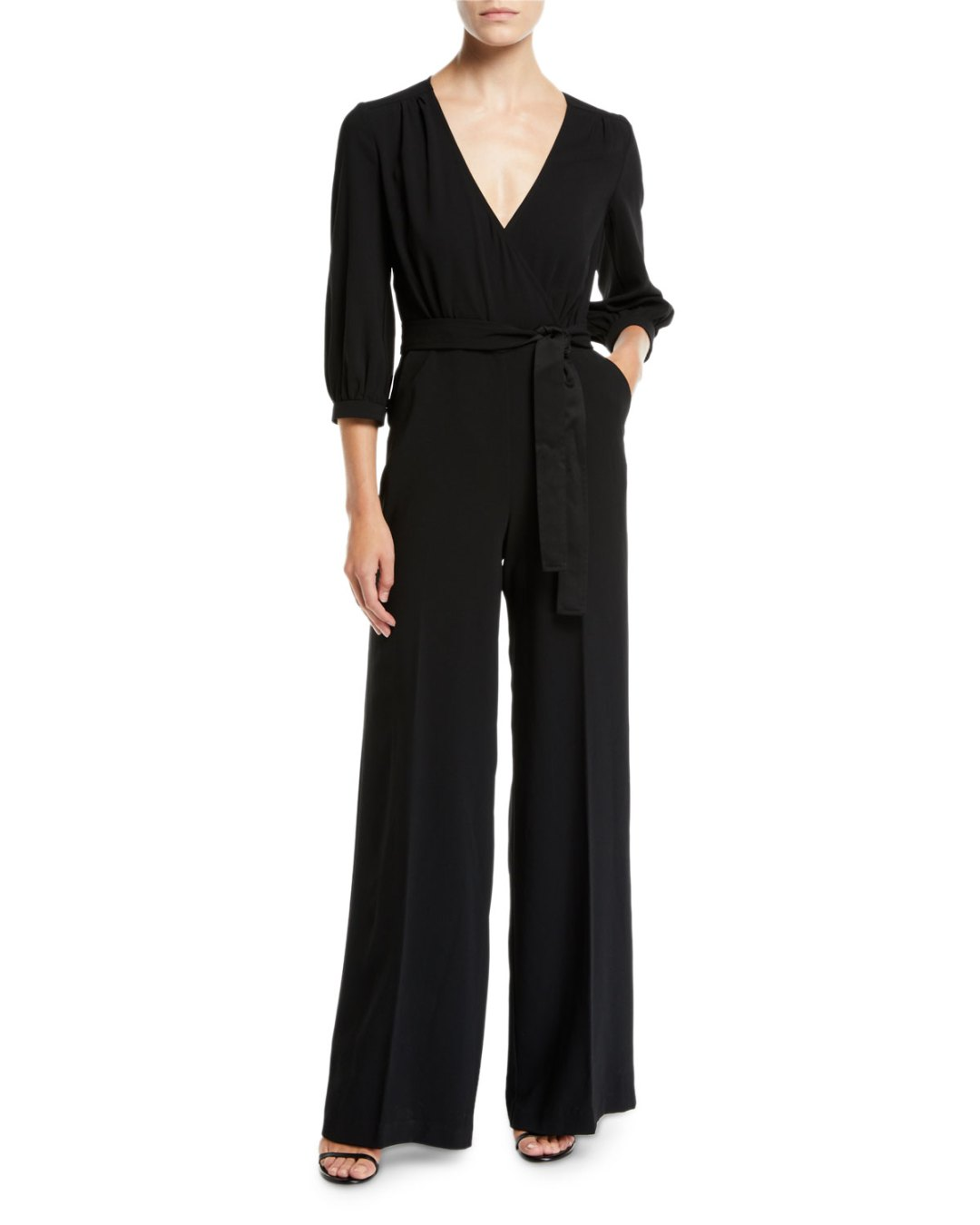 fdc26c3fe4c Neiman Marcus – Mineral V-Neck Jumpsuit w  Pockets –  358.00