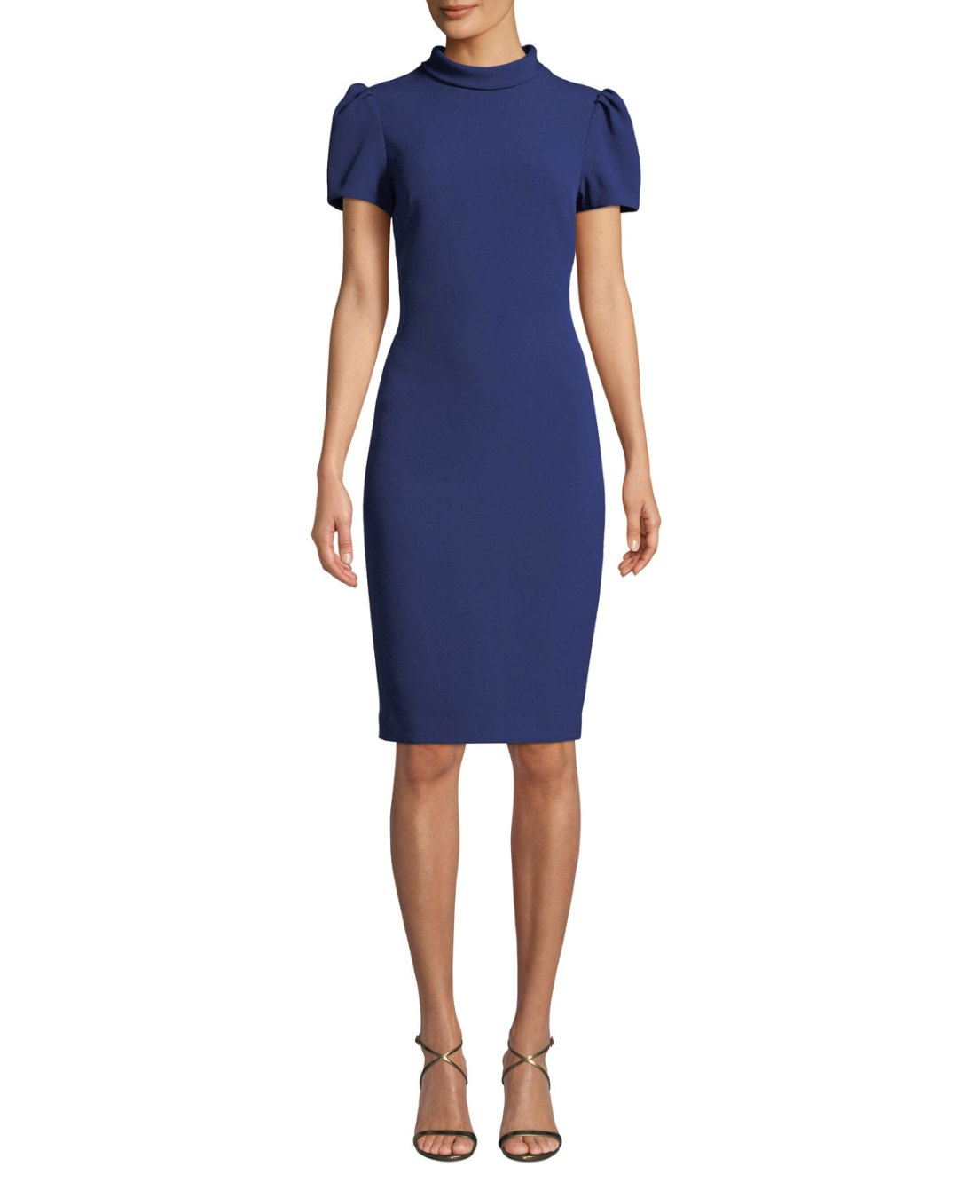 6105d92240 Neiman Marcus – Roll-Collar Puff-Sleeve Dress –  395.00