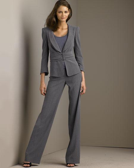 مدلهای جدید کت و شلوار زنانه - www.garonkish.com