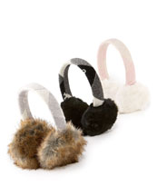 Juicy Couture Faux-Fur Earmuffs
