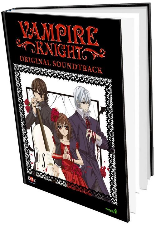 «Vampire Knight» : sortie de la BO