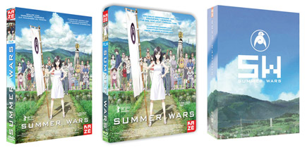 « Summer Wars » en DVD, Bluray et coffret collector