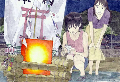 Momo e no Tegami : le nouveau film de Hiroyuki Okiura