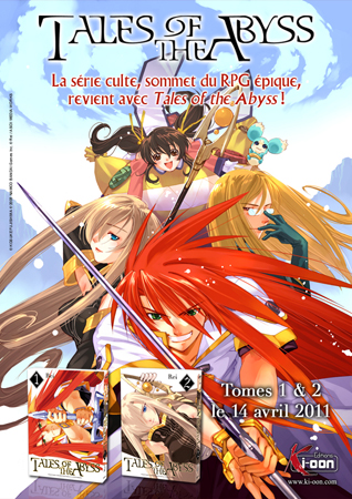 Tales of the Abyss aux éditions Ki-oon